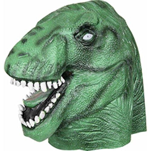 [Jurassic Park T-Rex Halloween Costume Mask] (Raptor Costume Jurassic Park)