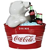 Westland Giftware Ceramic Cookie Jar, 9.75-Inch, Coca-Cola Polar Bear