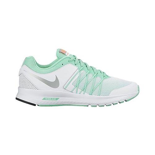 Nike 843882-300, Zapatillas de Trail Running para Mujer, Verde (Green Glow/Metallic Silver-Bright Mango), 44.5 EU: Amazon.es: Zapatos y complementos