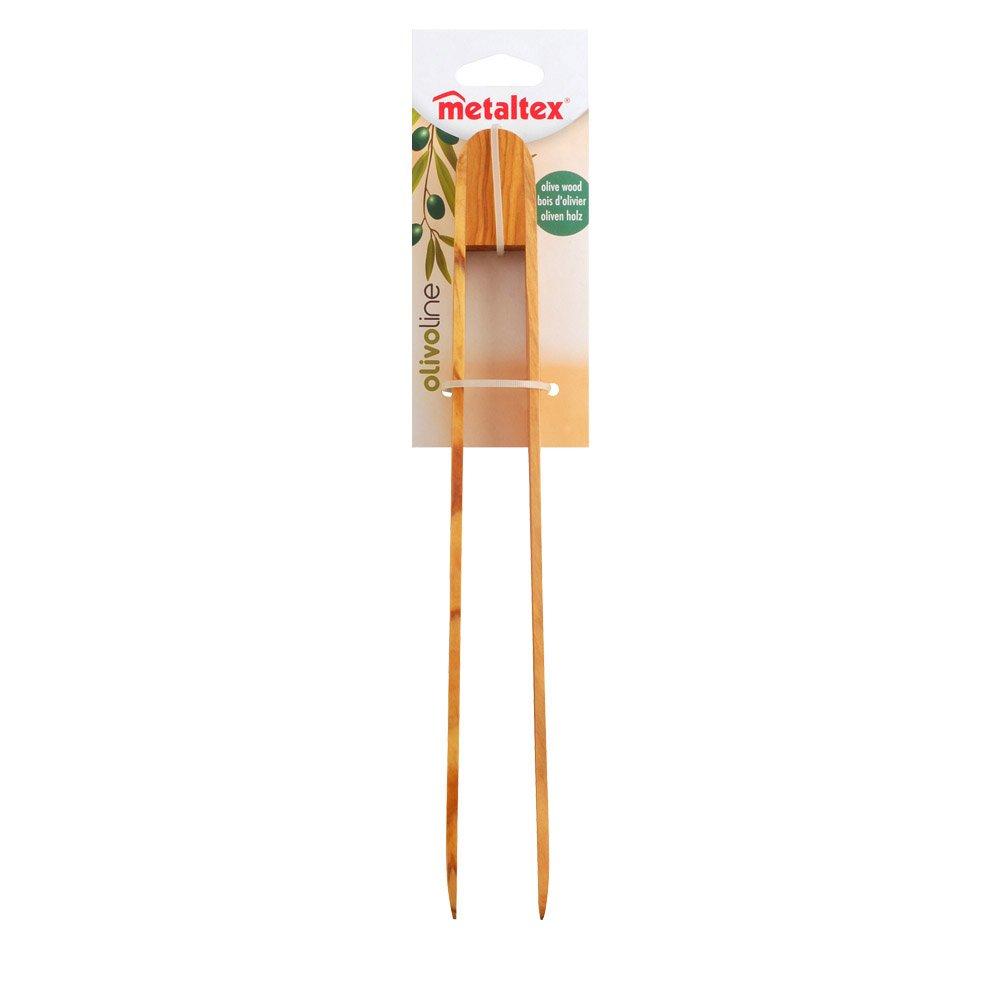 Metaltex 580619010 Pince de barbecue Bois dolivier 30/cm