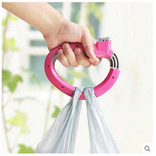 support Réducteur à de des la Plastique Red résistance légumes main supermarché de Red sac de Creative Nourriture sac de Extracteur acheter d'œuvre de Ustensiles nourriture wfRtqt