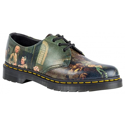 Dr. Martens Women's 1461 Renaissance 3-Eye Oxford Shoe Multi 8 M UK (Ladies Renaissance Shoes)
