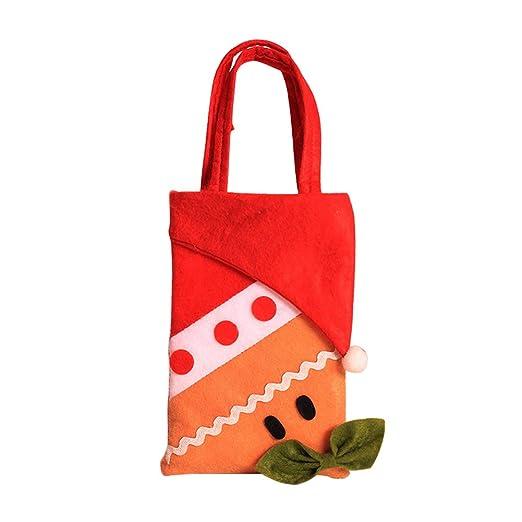 kentop bolsas para caramelos de Navidad portátil bolsas de ...