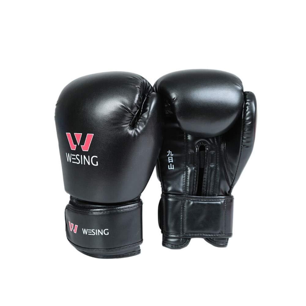 XIONGHAIZI 厚いサンドバッグ手袋、サンドバッグ手袋、ボクシングサンダ格闘技格闘トレーニング手袋 ボクシング愛好家のための最高の贈り物  Black B07SVTP1SS