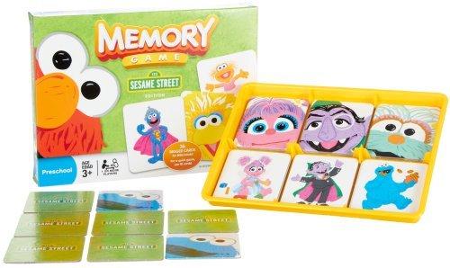 (Memory Game: Sesame Street )
