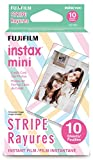 Photo : Fujifilm Instax Mini Stripe Film - 10 Exposures