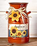 Country Primitive Kitchen Decor (sunflower milk can) - Best Reviews Guide