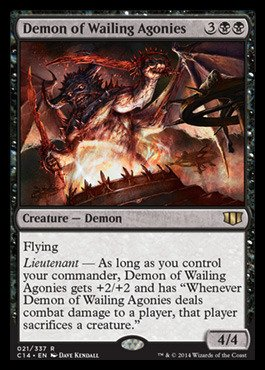 Magic: the Gathering - Demon of Wailing Agonies - Commander 2014