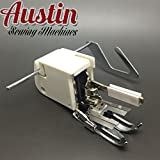 TMSewing Machine Screw-on Even Feed Walking Foot with Quilt Guide for Brother Singer Janome by Austin