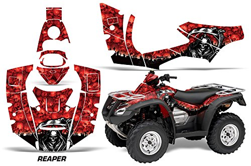 Kit for ATV Honda Rincon 2006-2014 ATV REAPER RED (Yamaha Atv Graphics Kit)
