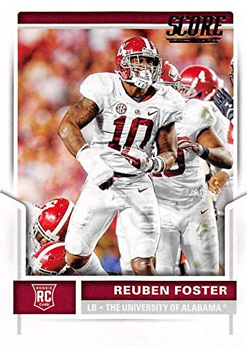 c1f12f614 Image Unavailable. Image not available for. Color  Reuben Foster football  card (Alabama Crimson Tide) ...