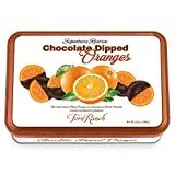 Chocolate Dipped Oranges Gift Tin