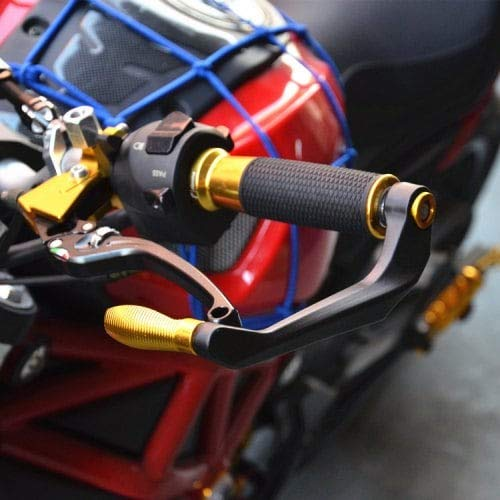 HaiMa Ricambi Moto Rimontare Z800 Z900 Z1000 Zx10R Frizione Freno Anti-Caduta Corno Paramani-Oro