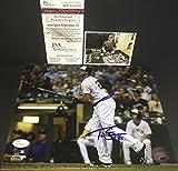 Travis Shaw Milwaukee Brewers Autographed Signed 8x10 JSA WITNESS COA Horizontal