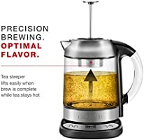 Chefman Electric Glass Digital Tea