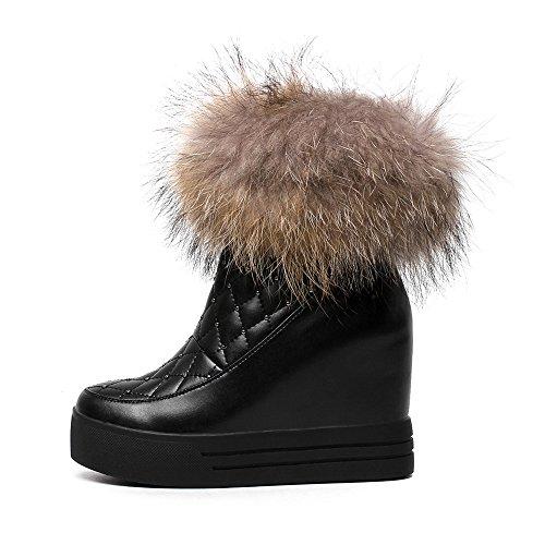 Nine boots mujer negro Botas SevenAnkle w6qC6Og