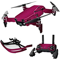 MightySkins Skin for DJI Mavic Air Drone - Pink Carbon Fiber | Max Combo Protective, Durable, and Unique Vinyl Decal wrap cover | Easy To Apply, Remove, and Change Styles | Made in the USA