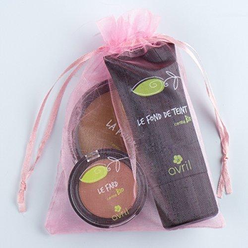 Bonne Mine Kit Cadeau maquillage Certifié Bio AVRIL