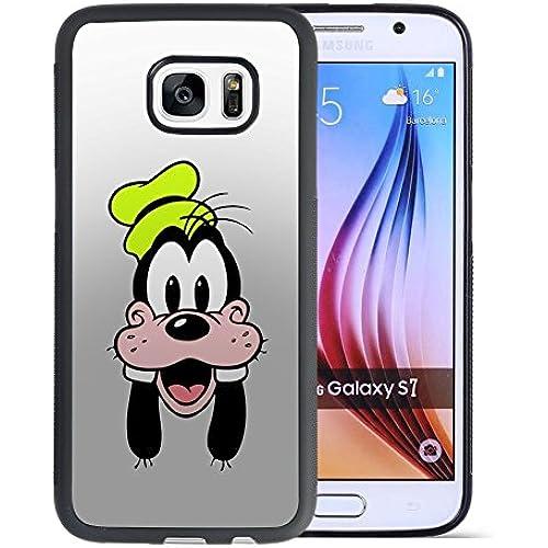 Disney Goofy Samsung Galaxy S7 Case, Onelee[Neverfade]A Goofy Movie Samsung Galaxy S7 Case Black TPU Case, Anti Slip Drop Protection Case Sales