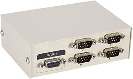 Amazon.com: PC Impresora DB9 Pin Serial RS232 Caja de ...