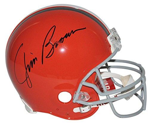 Browns Jim Brown Signed Authentic R/S Proline Helmet Fanatics COA #FA003910 ()