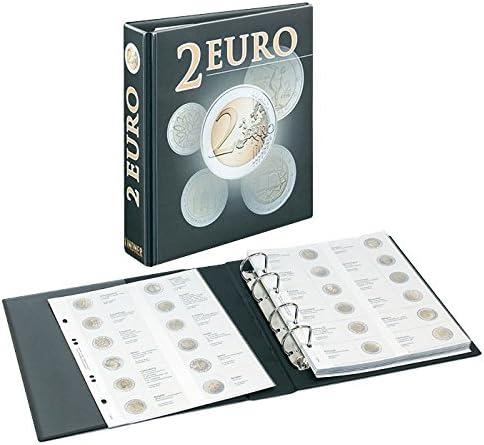 Lindner 3535M PUBLICA M 2 Euro-Vordruckalbum: Amazon.es: Juguetes y juegos