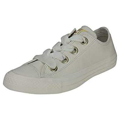 9f931214378833 Converse CTAS Big Eyelets Ox Womens Trainers Off White - 3 UK