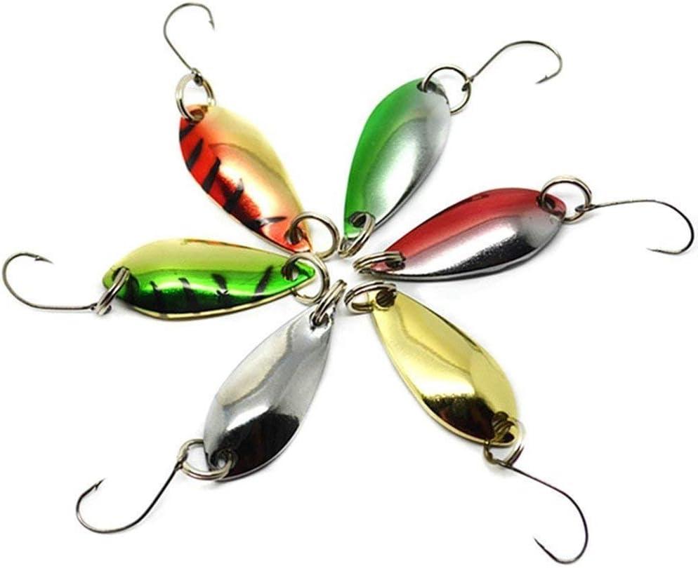 LiGG Forellenangeln Blinker Spinnfischen Forellenk/öder Angeln Spoon Spinner Forellen Blinker 3cm//3g