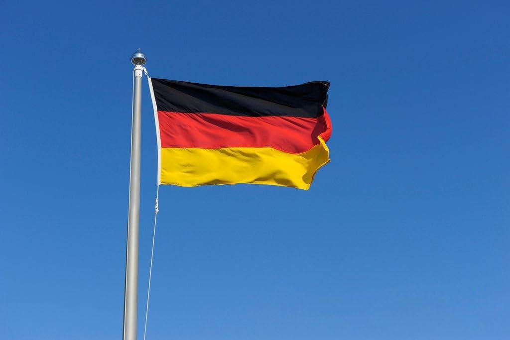 3 * 5 FT/90 * 150 cm bandera de Reino Unido, Estados Unidos, ca, FR, de, AU, es, es, MX, poliéster, Germany, 3x5 Ft: Amazon.es: Juguetes y juegos