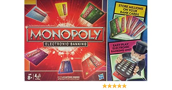 Hasbro Monopoly Electronic Banking Spanish Edition Negro alfonbrilla para ratón: Amazon.es: Juguetes y juegos