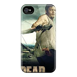 Hot JTvdOXP-1009 The Walking Dead &8211; Daryl Tpu Case Cover Compatible With Iphone 4/4s