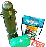 Portable Water Heater - SunRocket Solar Thermos and