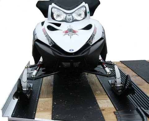 Caliber 13320 LowPro Glides Multi-Glide for Loading and Unloading of Snowmobiles by Caliber