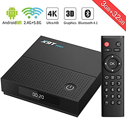 Android TV--X9T PRO Android 7.1 TV Box Amlogic S912 Octa-Core 3G+ ...