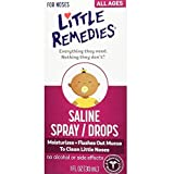 Little Remedies Little Noses Saline Spray/Drops, 1 Ounce by Little Remedies