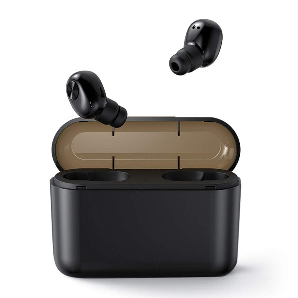 WXYS Wireless Bluetooth Headphone Mini Invisible Earphones with BL1 2200mAh TWS Noise Cancelling