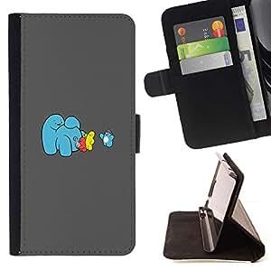 Momo Phone Case / Flip Funda de Cuero Case Cover - Hielo divertido Cream Machine;;;;;;;; - LG G4c Curve H522Y (G4 MINI), NOT FOR LG G4