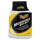 Meguiar's X3002 Microfiber Wash Mitt – Super-Thick Reusable Wash Mitt for Ultimate Finish