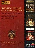 Gioachino Rossini from Glyndebourne - The barber of Seville + La Cenerentola + Le comte Ory [3 DVDs] [UK Import]