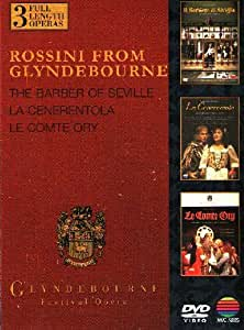Rossini from Glyndebourne (Il barbiere di Siviglia, La Cenerentola, Le Comte Ory) [Import anglais]