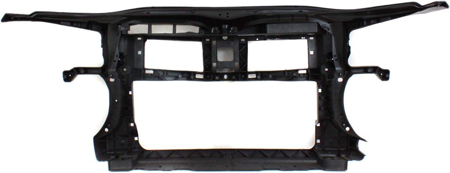 PASSAT CC 09-12 RADIATOR SUPPORT Composite Black Plastic Assembly