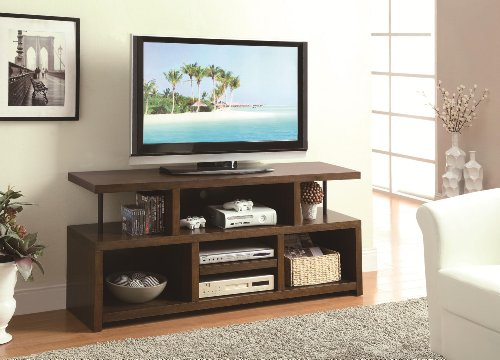 Stand Entertainment Center Brown Coaster
