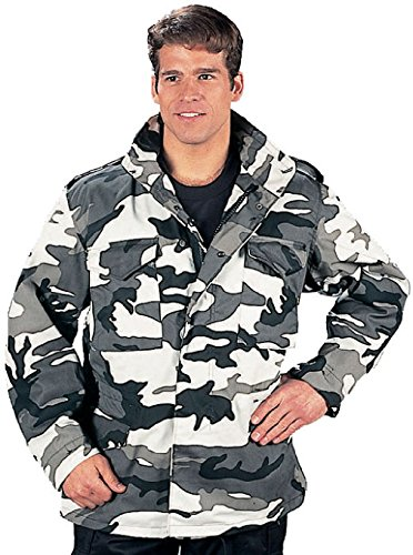 City Camouflage Military Field Coat Army Jacket (Flannel Oz 5 Shirt)