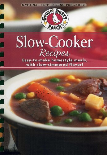 Slow-Cooker Recipes Cookbook: Easy-to-make homestyle meals with slow-simmered flavor! (Everyday Cookbook Collection) (Sweet Potato Crockpot Recipe)