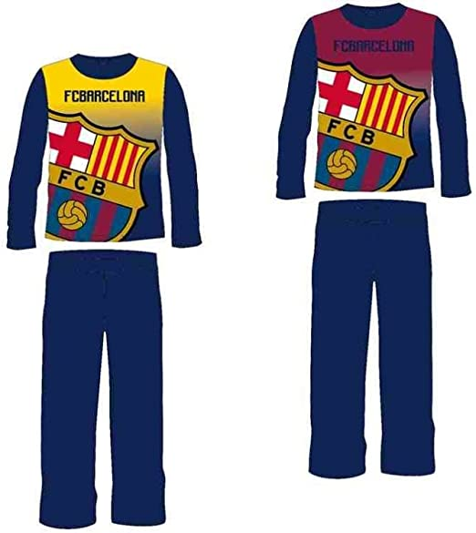 Pijama FC Barcelona micropolar infantil surtido