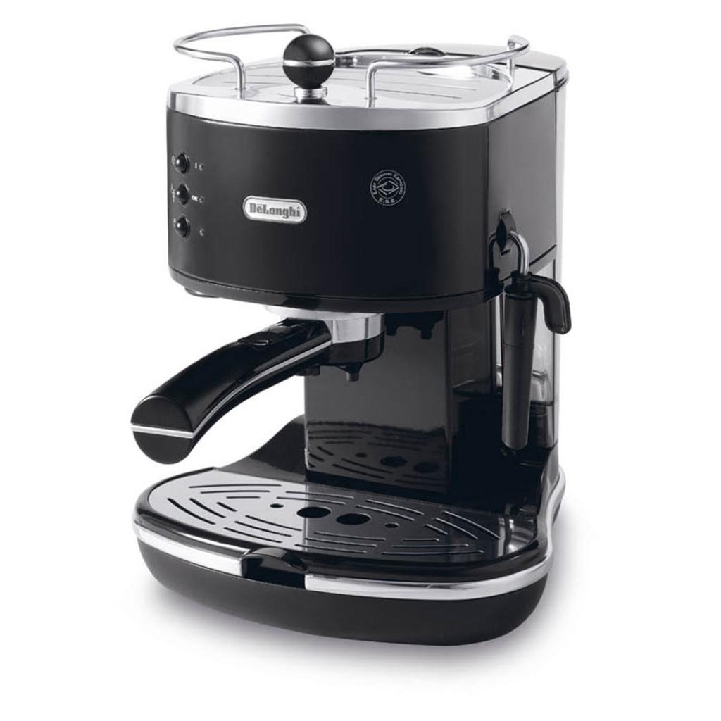 Amazon.com: DeLonghi ECO310BK 15-Bar-Pump Espresso Machine, Piano Black: Semi Automatic Pump ...