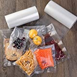 Vacuum Sealer Bags 8x50, 11x50 Rolls 2 pack for