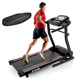 Sportstech F26 professional treadmill with Smartphone App co...