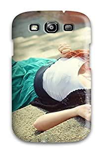 Protective Tpu Case With Fashion Design For Galaxy S3 (w15)