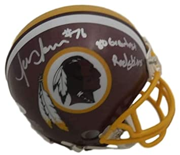Amazon.com  Jon Jansen Autographed Signed Washington Redskins Mini Helmet  JSA  Sports Collectibles 573250bfa